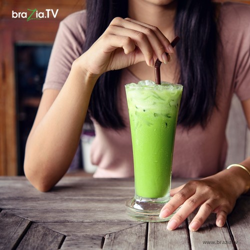 4. Relax with Matcha Tea