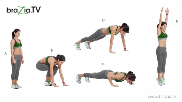 How to do right Burpees?