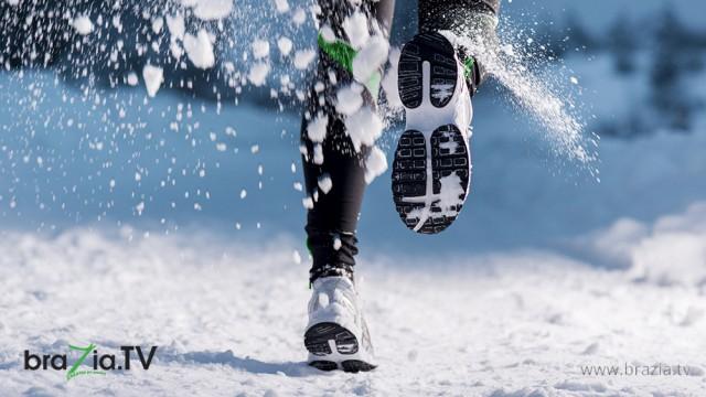 Caminhada no Inverno